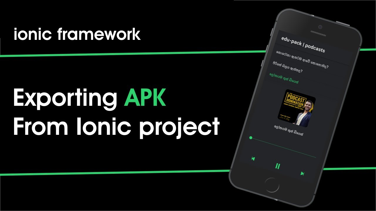 How to Make apk From ionic Project Capacitor , Cordova