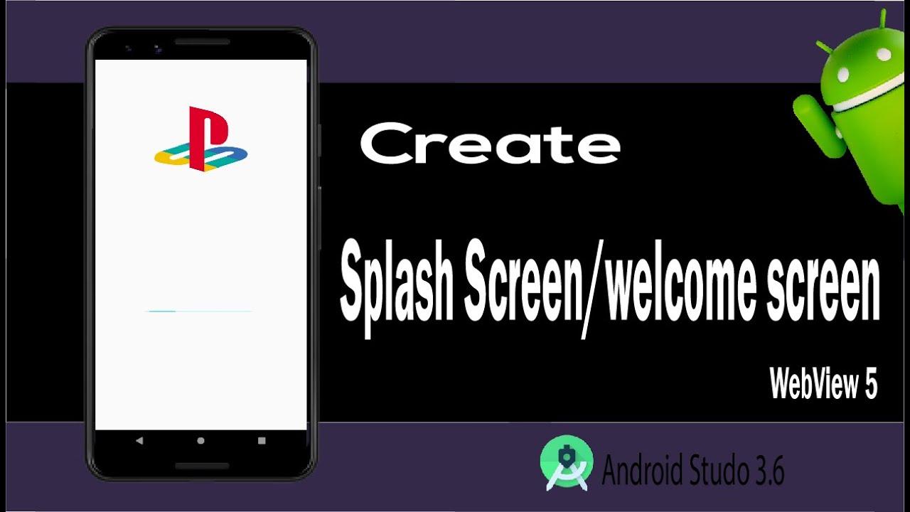 Convert Website into  App Part 5 | Creating Splash Screen with Horizontal Progress Bar-Tech Aside