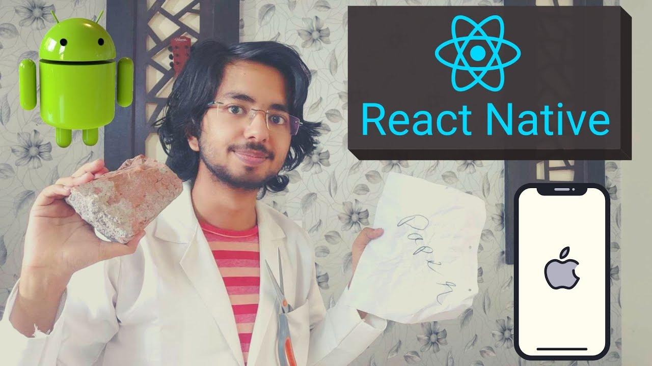 React Native Tutorial – Create Android, iOS, Web & Desktop apps using React