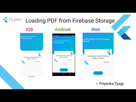 Loading PDF file from Firebase Storage in Flutter App (Android, iOS & Web)