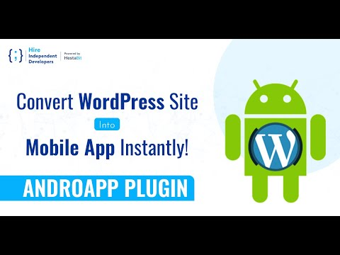 How to Convert WordPress Site into a Mobile App Using Androapp Plugin?