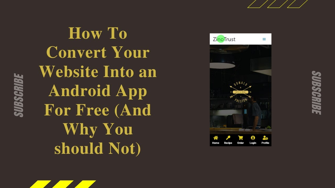 How To Convert Your Website Into an Android App For Free (And Why You Should Not)