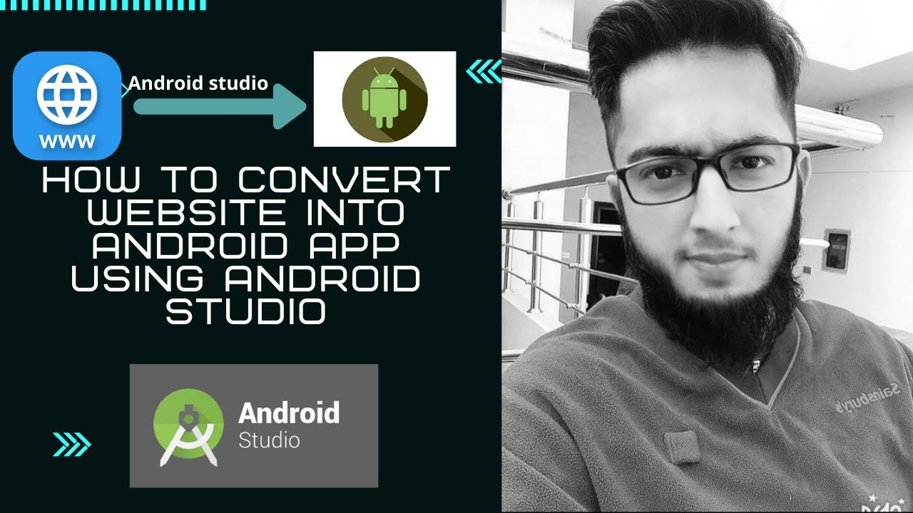 How to Convert Website into Android App by using Android Studio in 2020|Android app dev|Urdu|Hindi