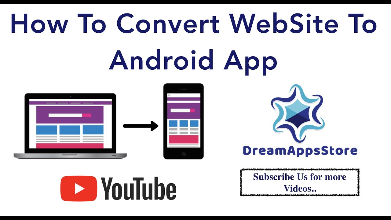 How To Convert Any Website Into a Professional Android App Free Using Android Studio