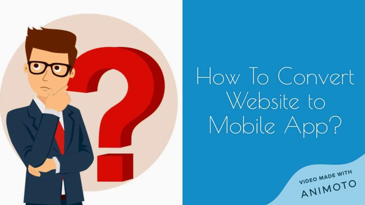 How to Convert Website to Mobile App | Web2appz