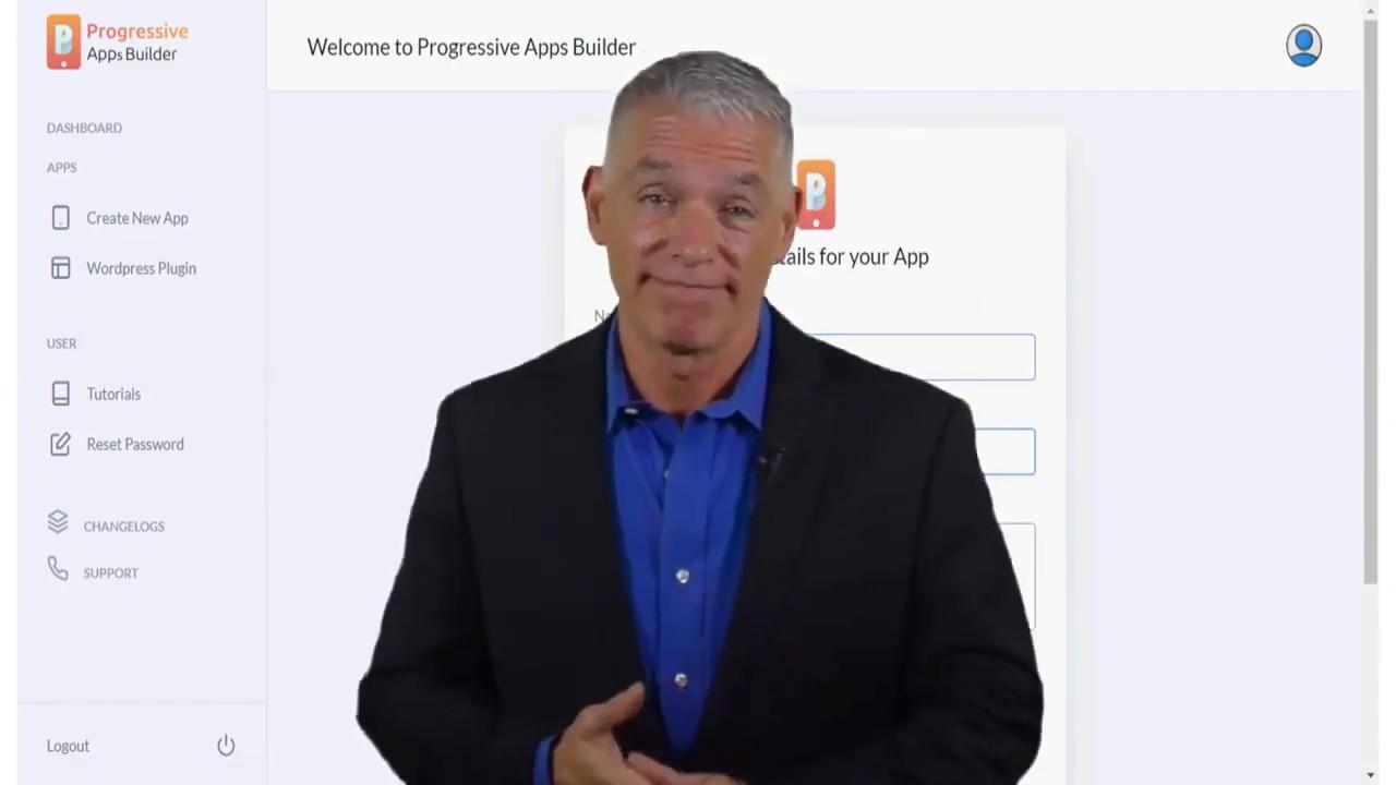 How to Convert Website into Mobile application ! Progressive App Builder