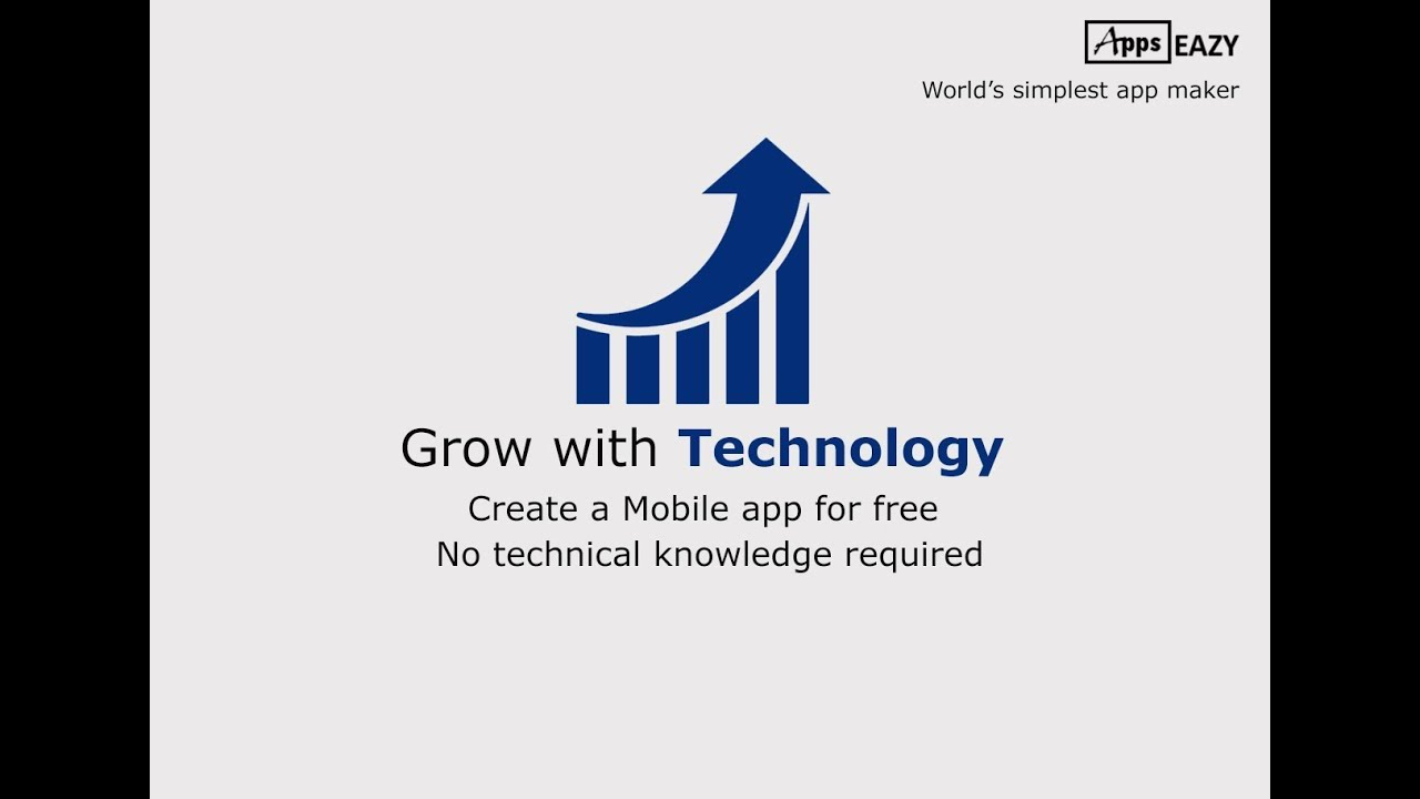 AppsEazy – Free Android & iOS App Maker online