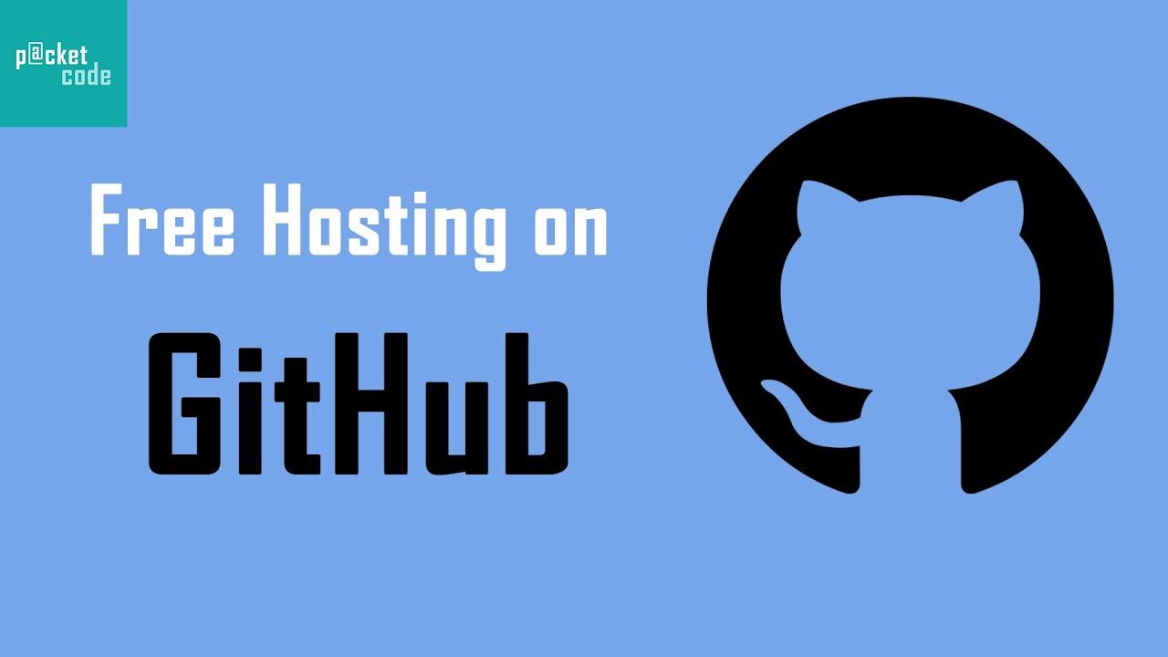 Host a static website for FREE on GitHub