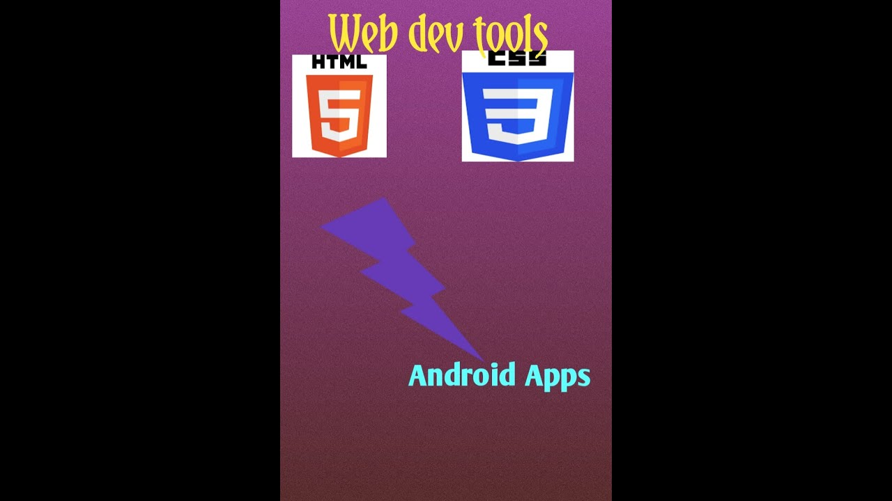 Converting HTML code to Android apps  clear version.
