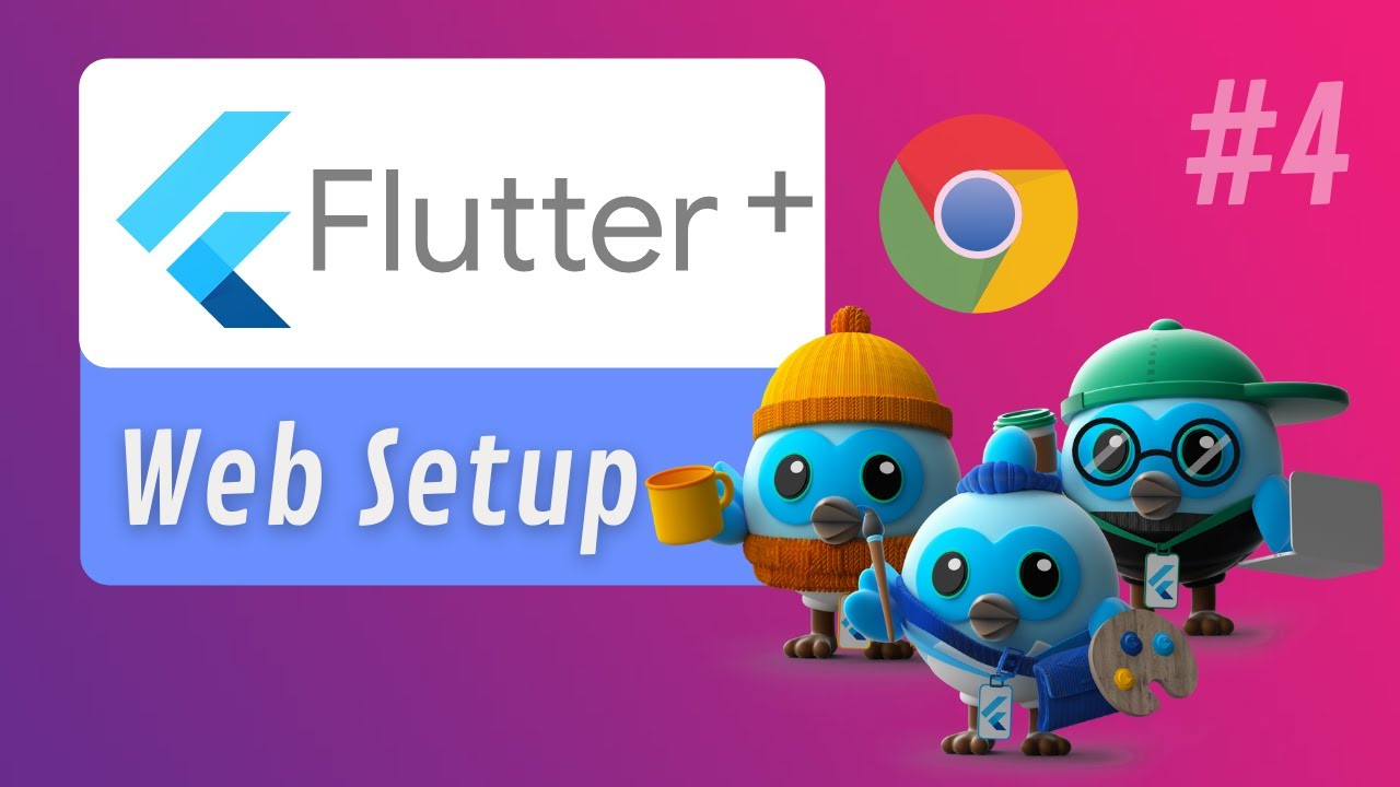 How to run Flutter App in Chrome? | Setup Flutter Web for Web Applications | #4 @Flutter
