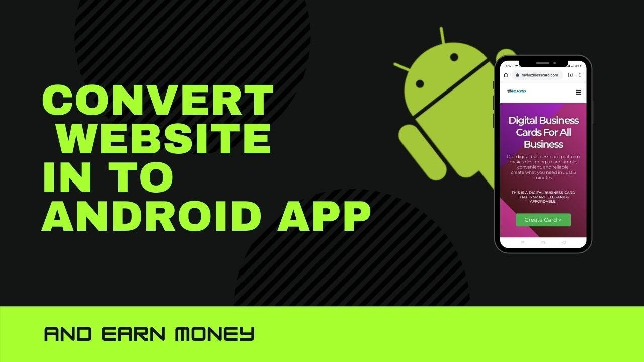 How to convert Website in to Mobile Android App and Submit in Google Play Console