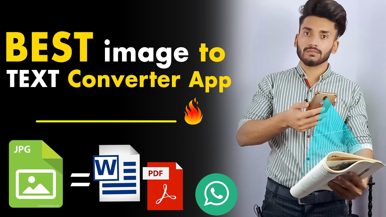 IMAGE TO TEXT CONVERTER | Translate image to text | Best Text scanner app 2021 اردو | हिन्दी