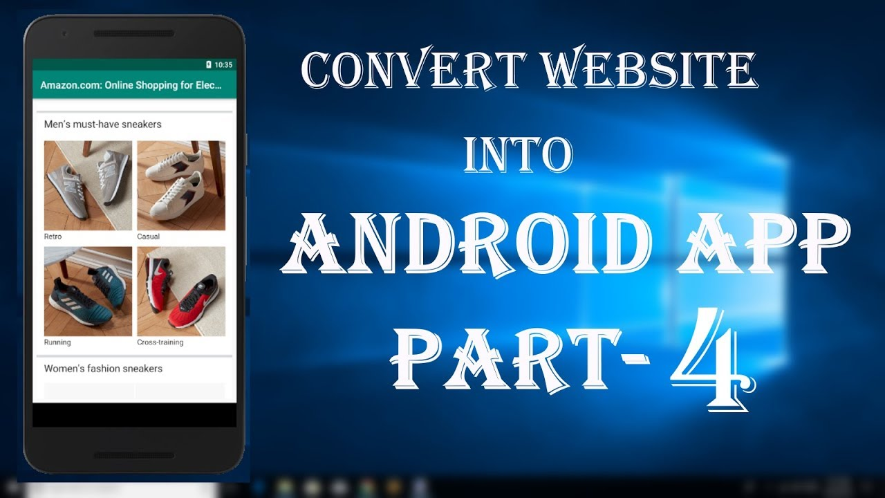 Convert your Website into Android app part-4[Android studio tutorial]