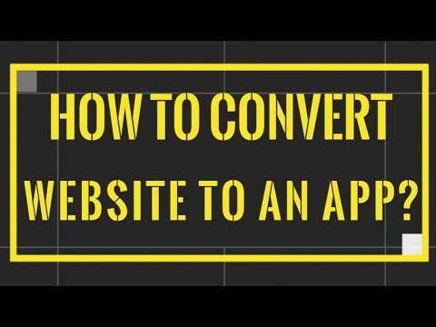How to convert website to android app?