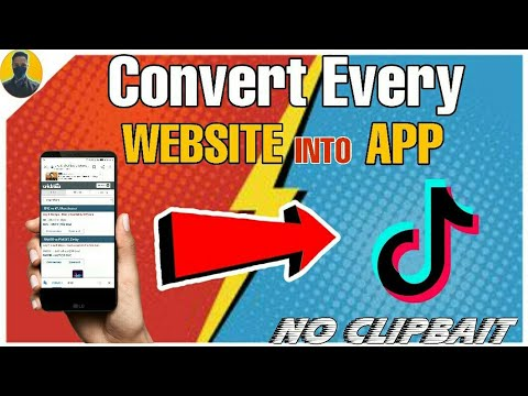How To Convert Every Website Into App || New Trick || Convert website into App ||  By Pranay Sharma