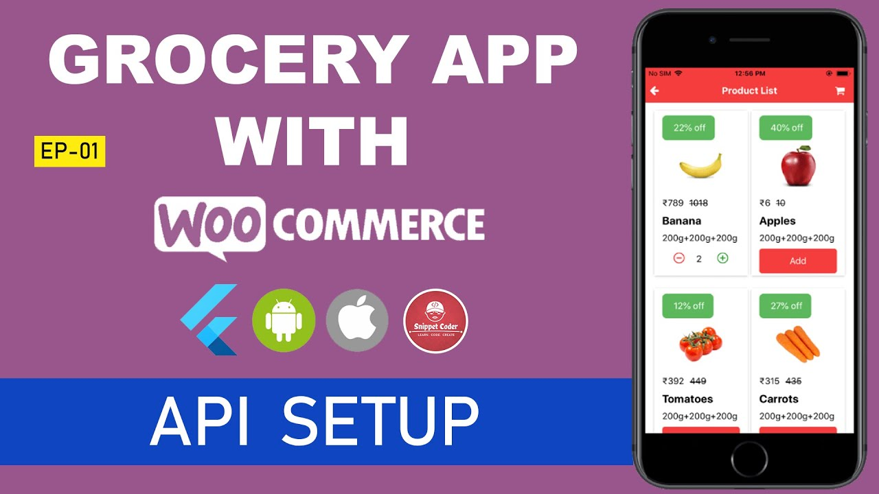 🔥 Flutter – Grocery App – WordPress – WooCommerce Series 🔥 – EP 02 – WooCommerce API Setup
