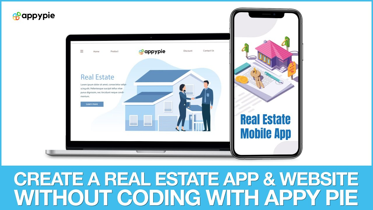 Create a real estate app & website with appy pie