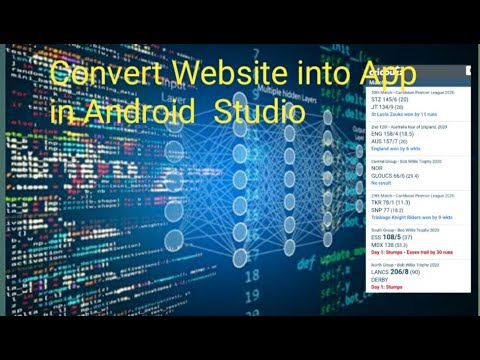 How to convert Website into app in Android Studio