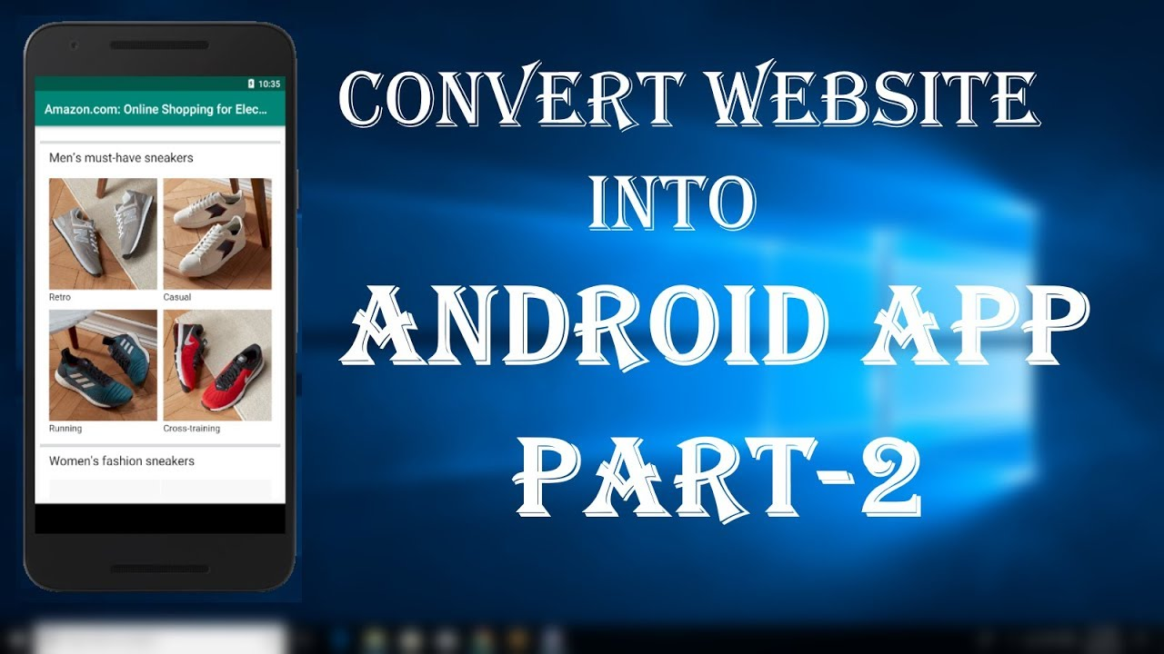 Convert website into android app part-2[Android studio tutorial]