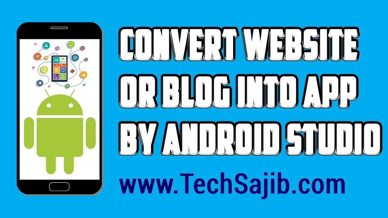 How to convert a website or blog into app in Android Studio? || MSRS Production