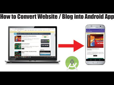 How to Convert a Website into Android App using Android Studio 2020
