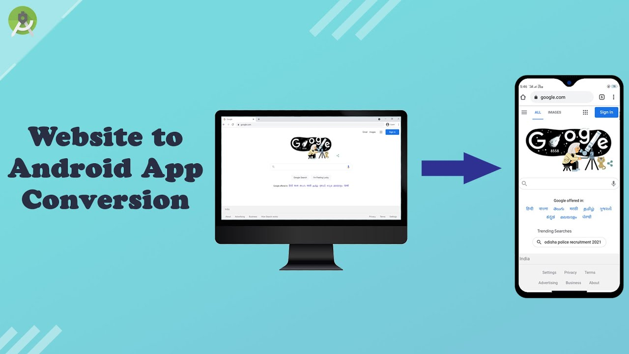 How to convert a Website into an Android App | Android Studio Tutorials