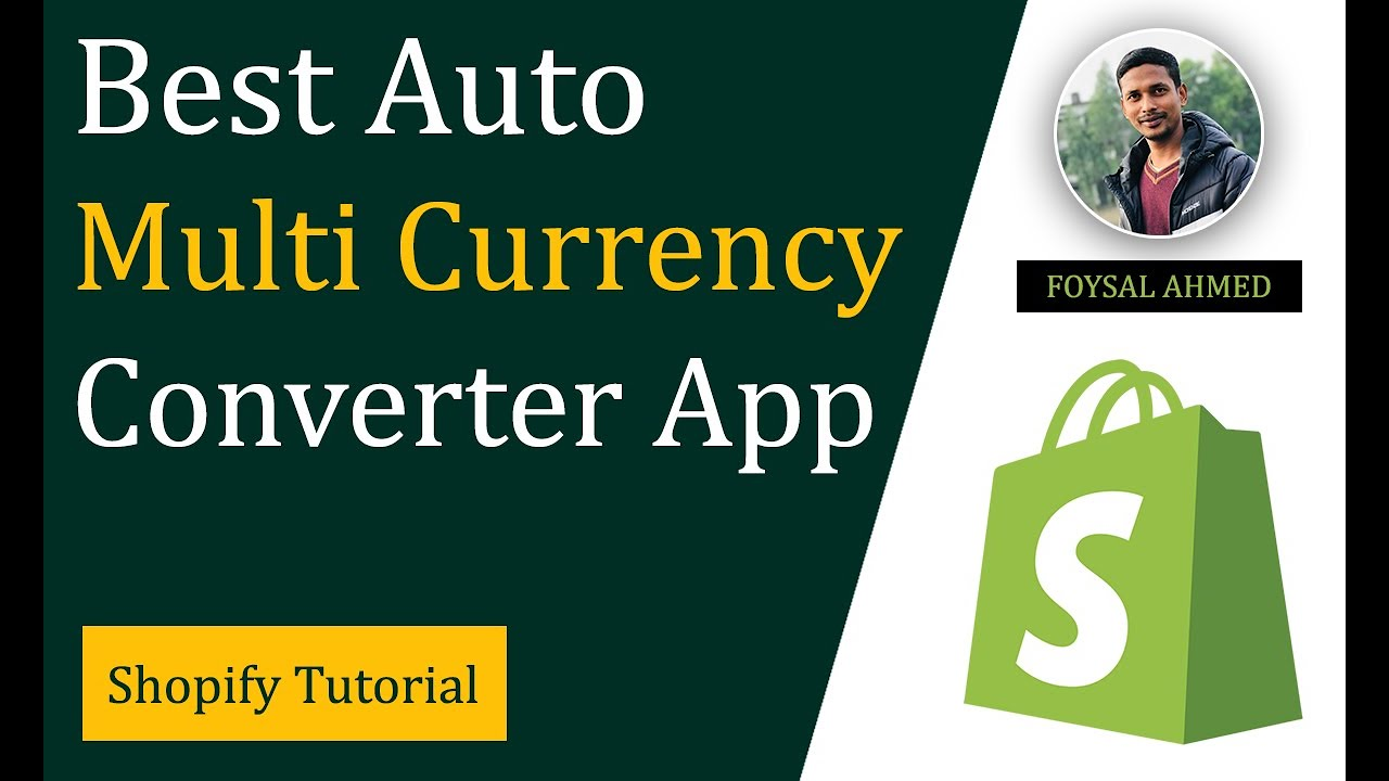 Auto Multi Currency Converter ✅ Best Shopify Currency Converter App