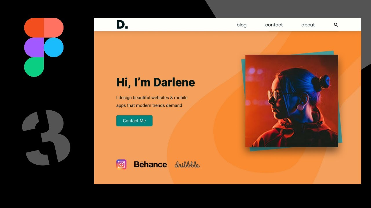 Convert A Figma Design To A Real Website (HTML) – Part I