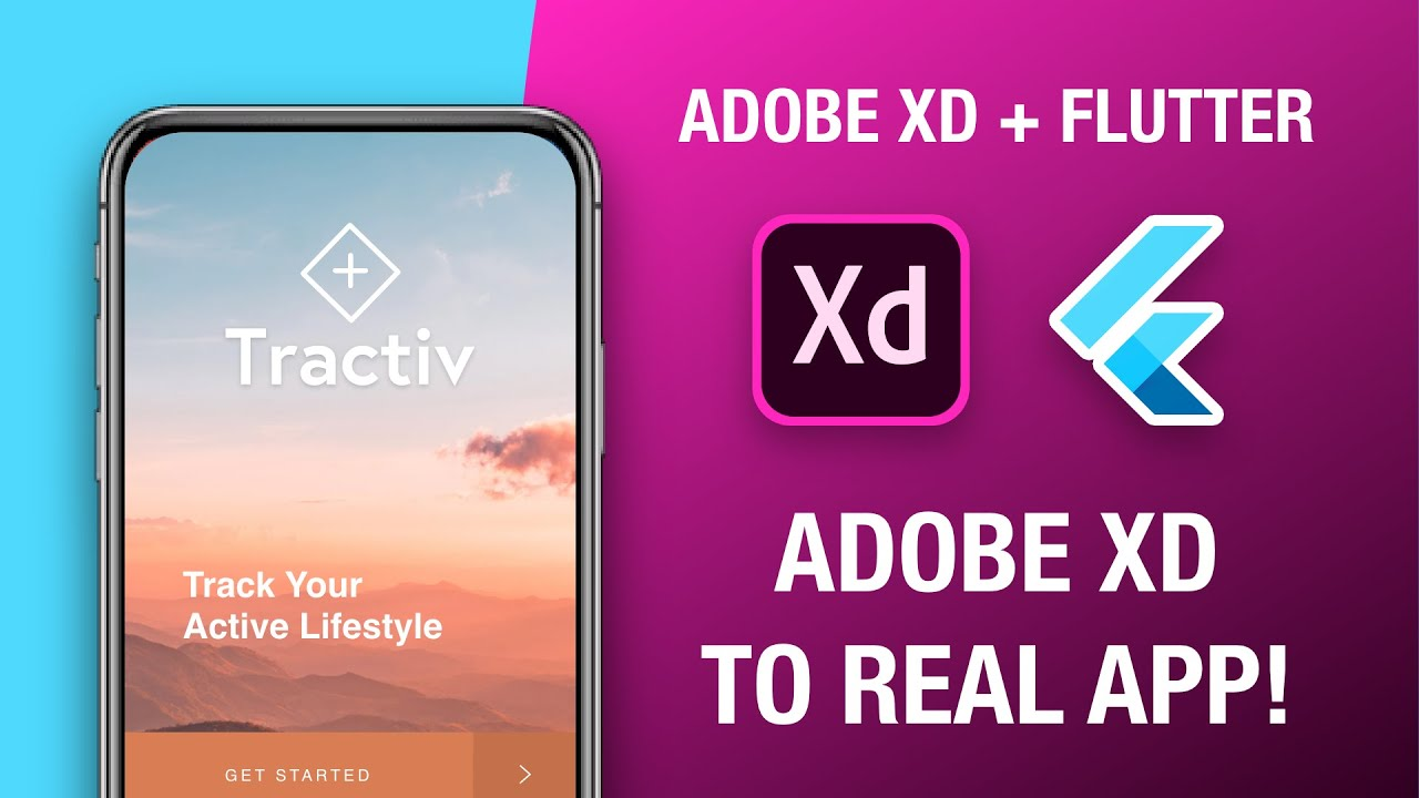 Adobe Xd to Real App with Flutter! Adobe Xd to Flutter | Design Weekly
