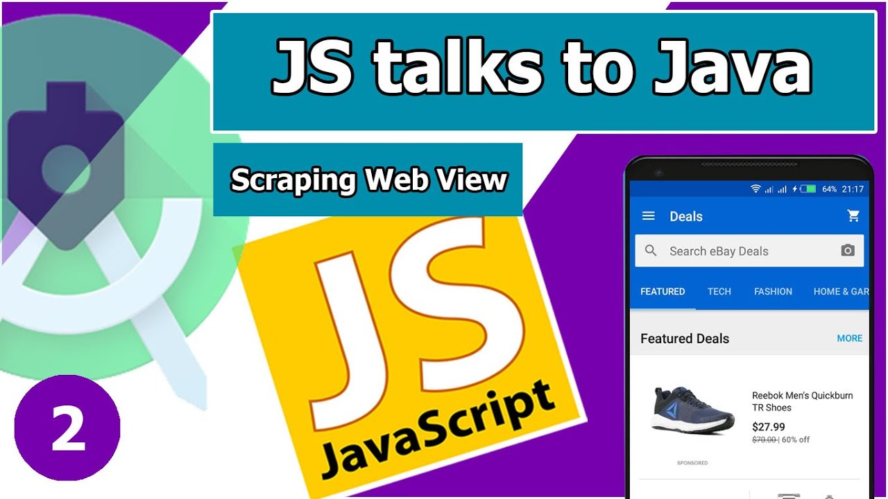 Convert Web to App – How to Injecting JavaScript , Scraping in Android WebView Scraping Part 2