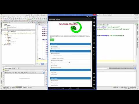 How to Convert a Website into Android Application using Android Studio   YouTube
